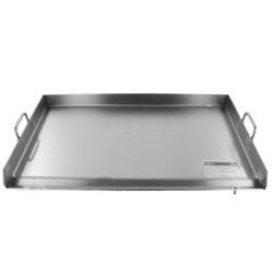 "AW1519-15"" x 18"" Thick Stainless Steel Griddle - Flat Top Grill - Plancha"