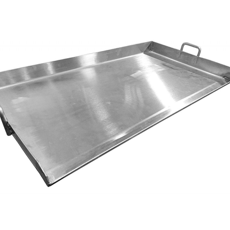 Aw1518 15 X 18 Thick Stainless Steel Griddle Flat Top Grill Plancha Acero Ware