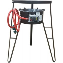 AW1370-Super Gas Burner Cooker with 28 inch 360° Wind Guard Stand