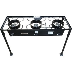 Huge Triple High Pressure Portable Propane Outdoor Cooker - Camp Stove