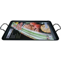 "AW91097- 19"" Non-Stick Double Griddle (Dishwasher Safe!)"