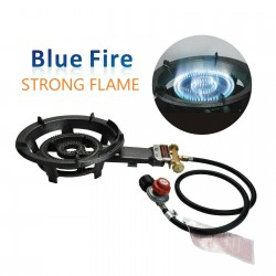 AW1117-Propane Burner Camp Stove-High Pressure Cooker-Cast Iron Burner Head-Heavy Duty Portable Gas Stove