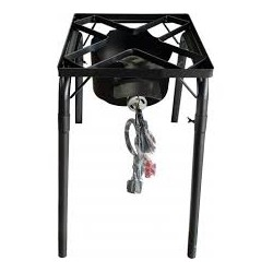 AW3801-Single Adjustable Burner Propane Gas Cooker-Outdoor BBQ Grill-Portable Camp Stove Cooking